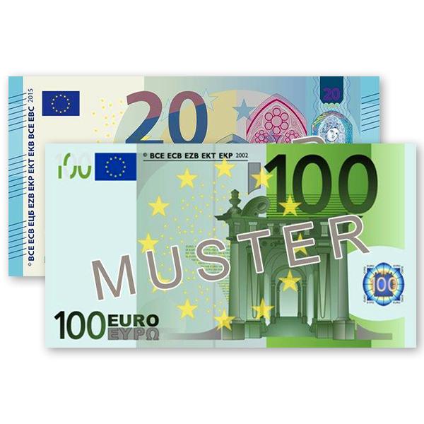 *120 € Verrechnungsscheck
